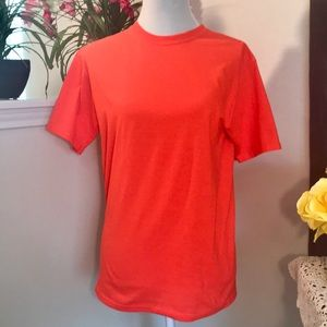 Day-Glo Fruit-of-the-Loom Orange T-shirt
